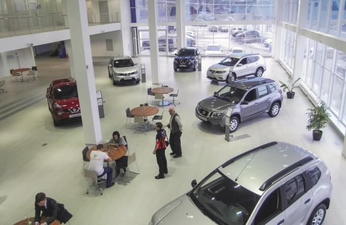 Открытие дилерского центра Nissan в Самаре