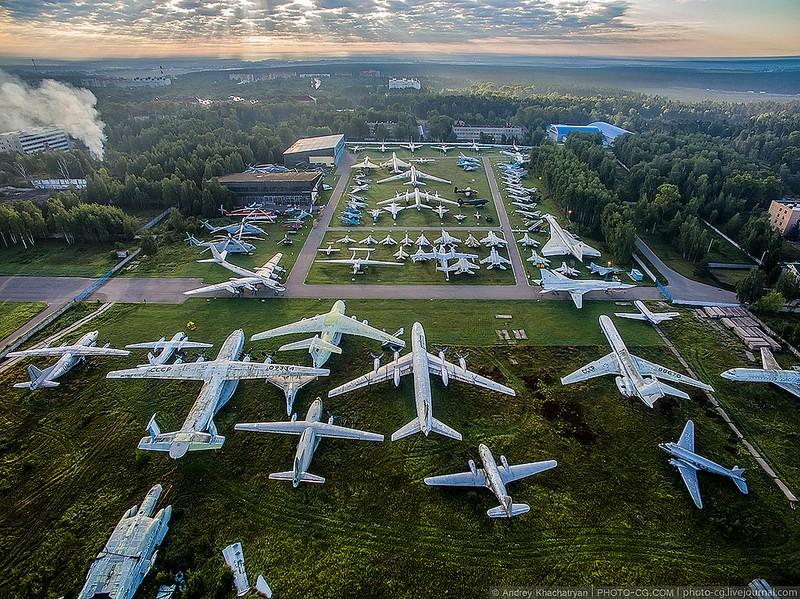 Центральный музей военно-воздушных сил МО РФ
