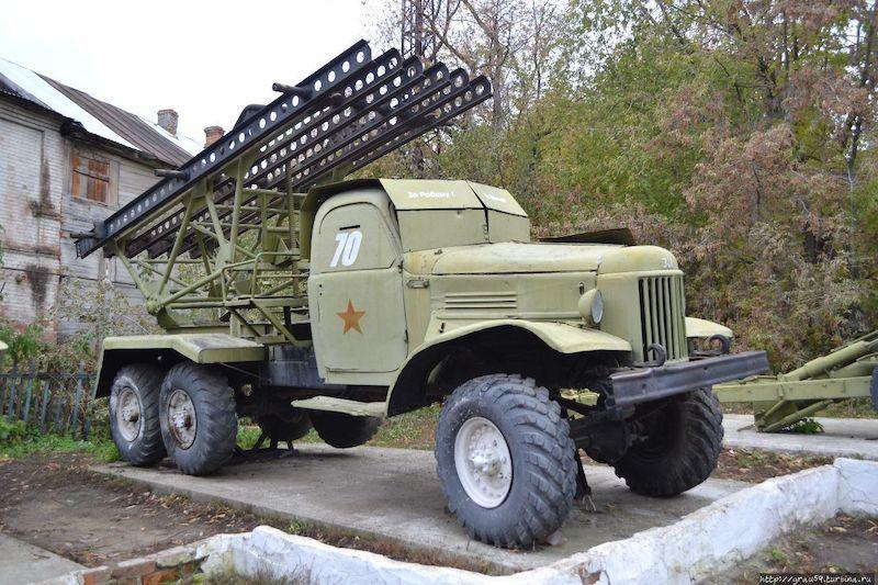 Музей военной техники (г. Вольск)