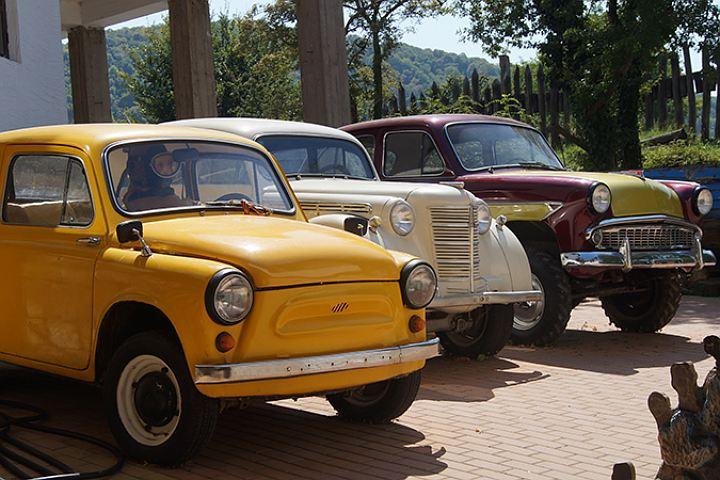 музей ретро-автомобилей в архипо-осиповке