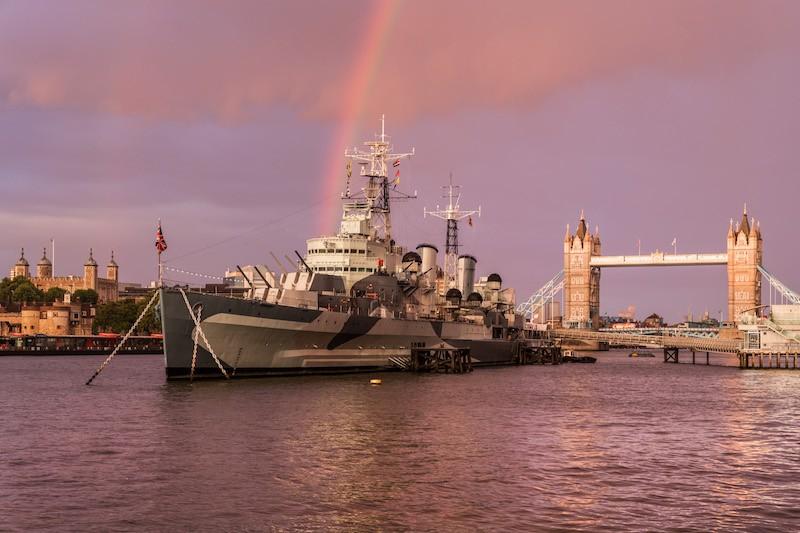 Крейсер «Белфаст» / HMS Belfast