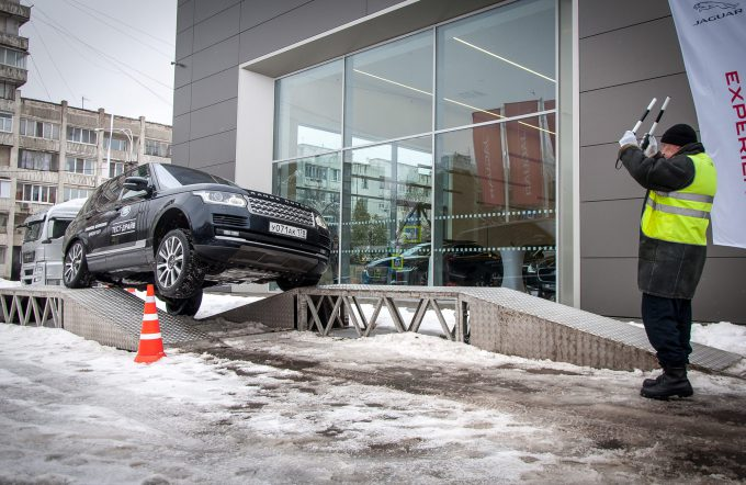 Jaguar Land Rover Experience в Самаре