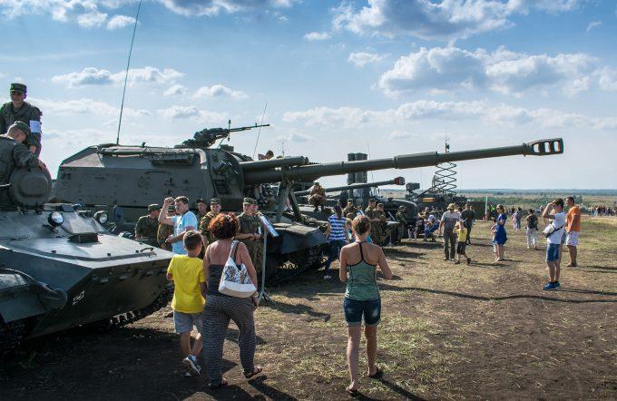 Армия-2017 в Рощинском часть 1