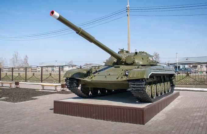 Парк Победы в селе Сергиевск, Самарская область