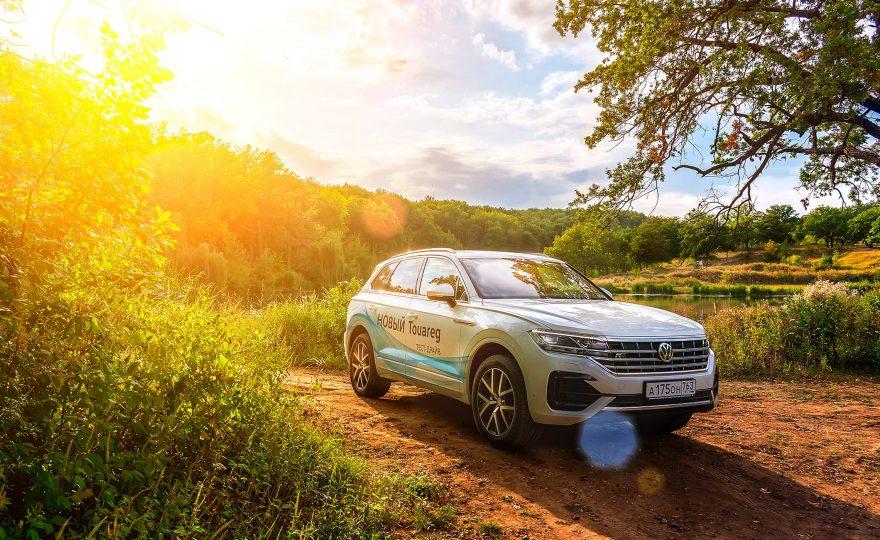Volkswagen Touareg тест-драйв