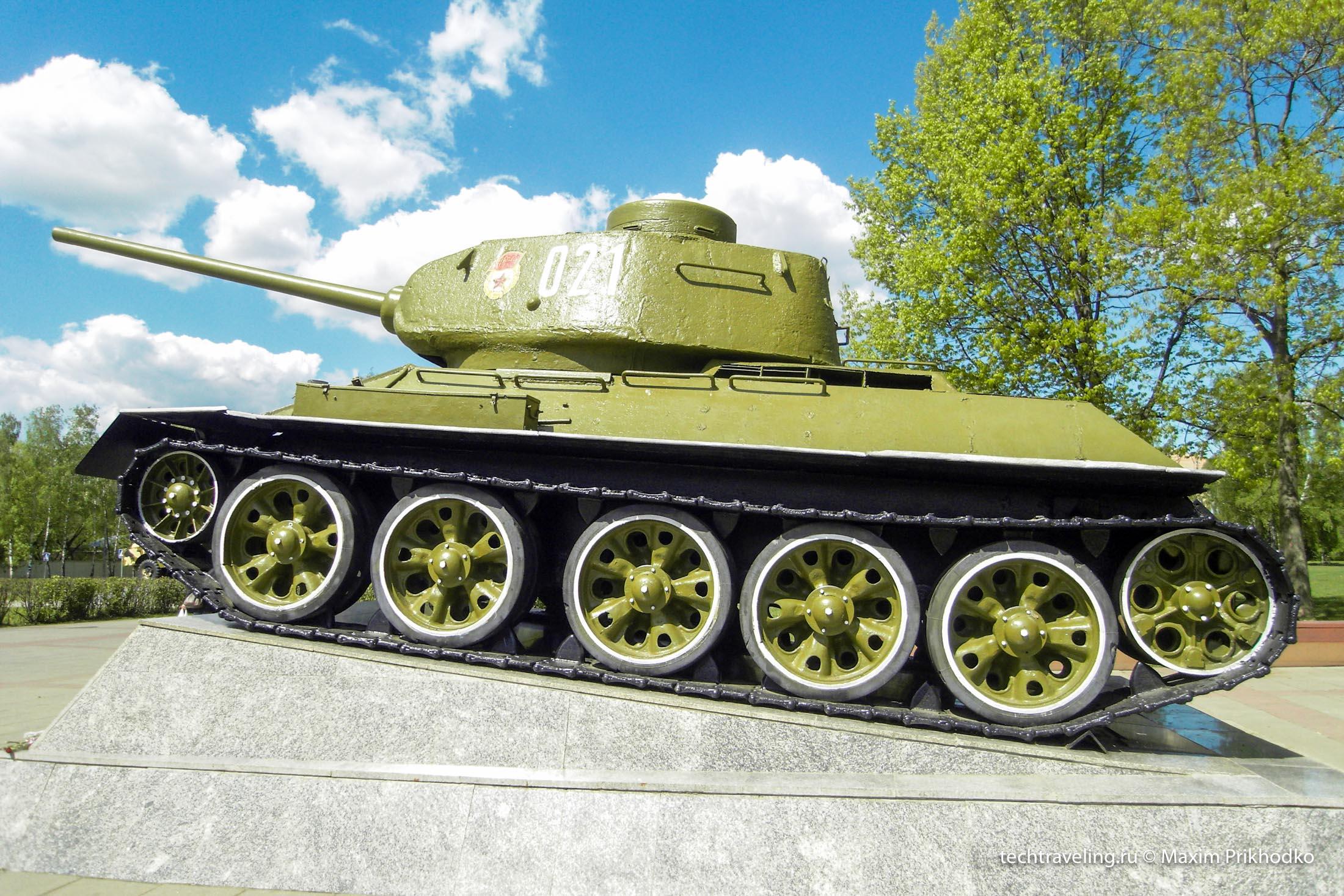 Картинка с танком т 34
