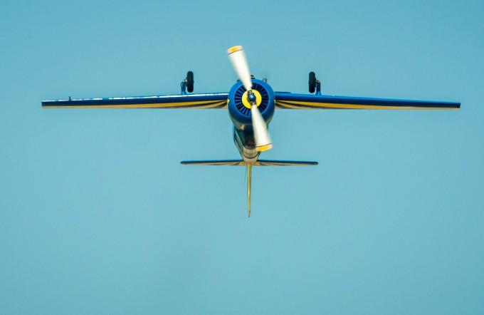 Полет на Як-52