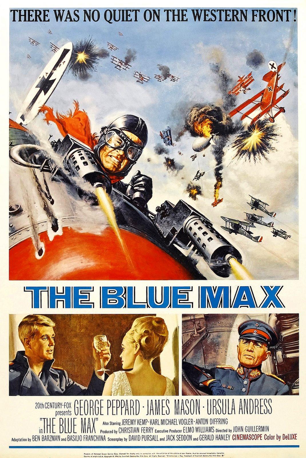 Blue Max фильмы про самолеты