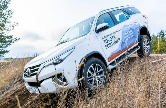 Toyota LandCruiser's Land Самара