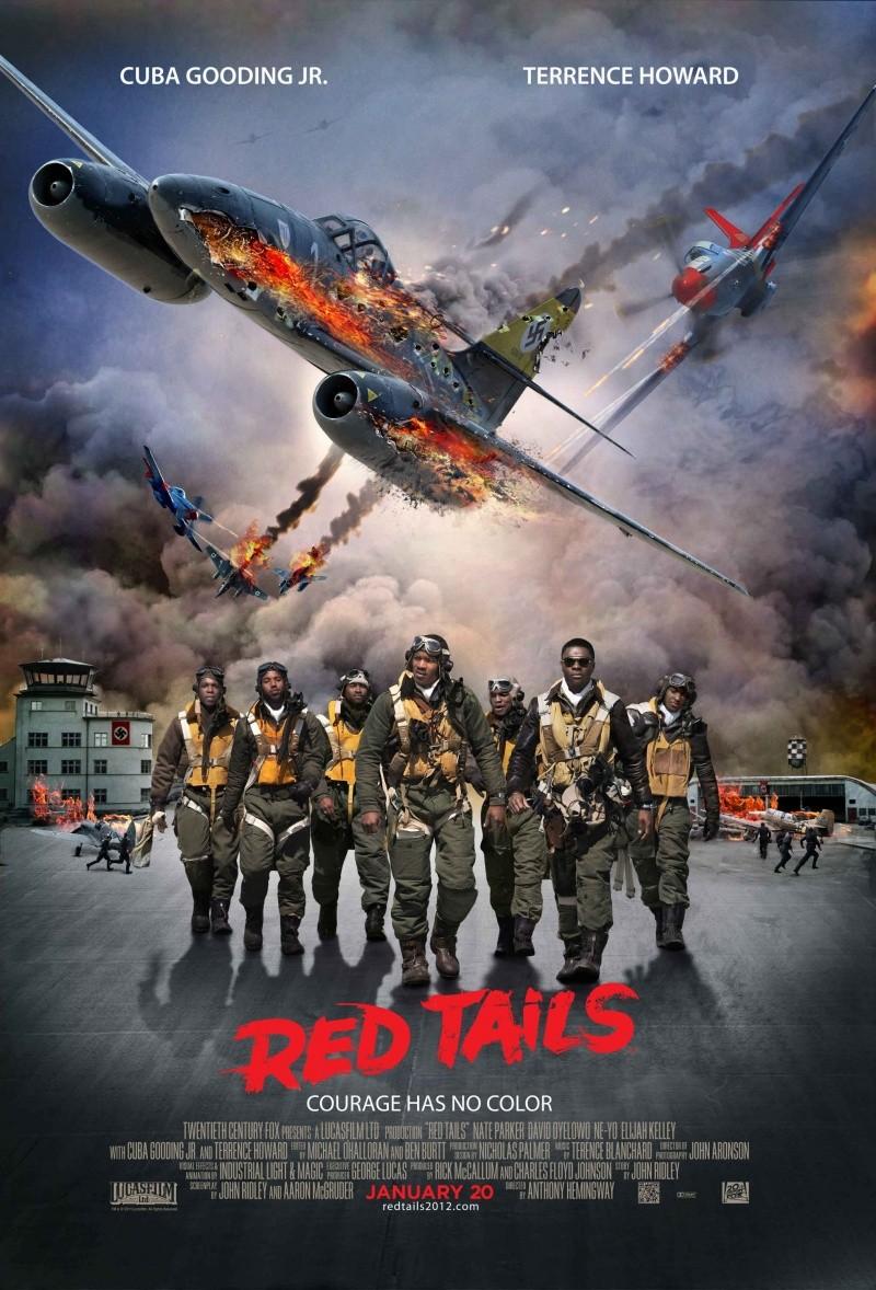Красные хвосты / Red Tails художественные фильмы про самолеты