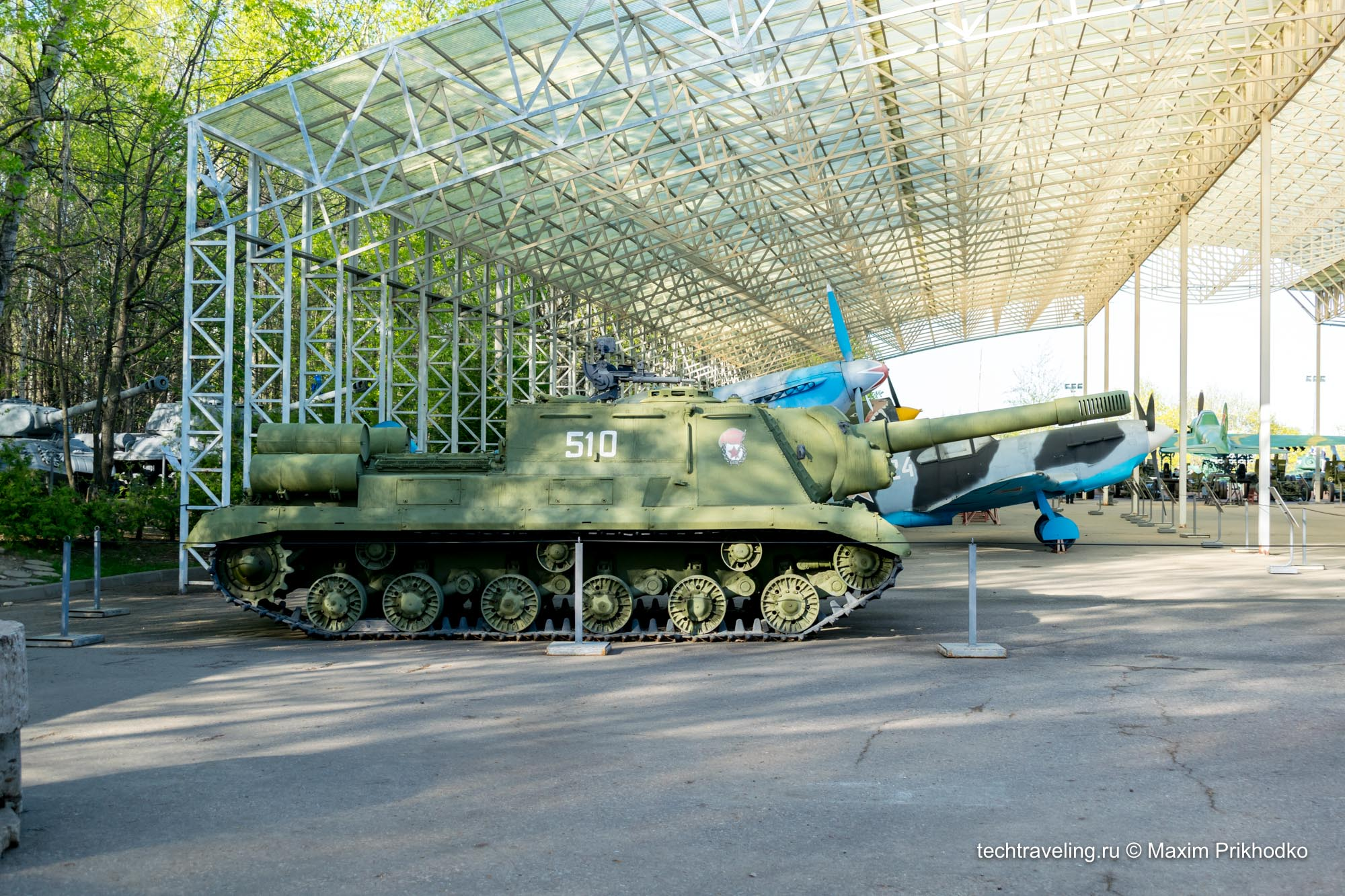 Парк Техники на Поклонной Горе в Москве