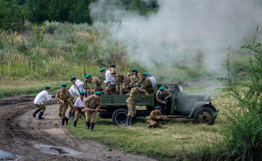 Фестиваль военно-исторической реконструкции «Россия XX век»