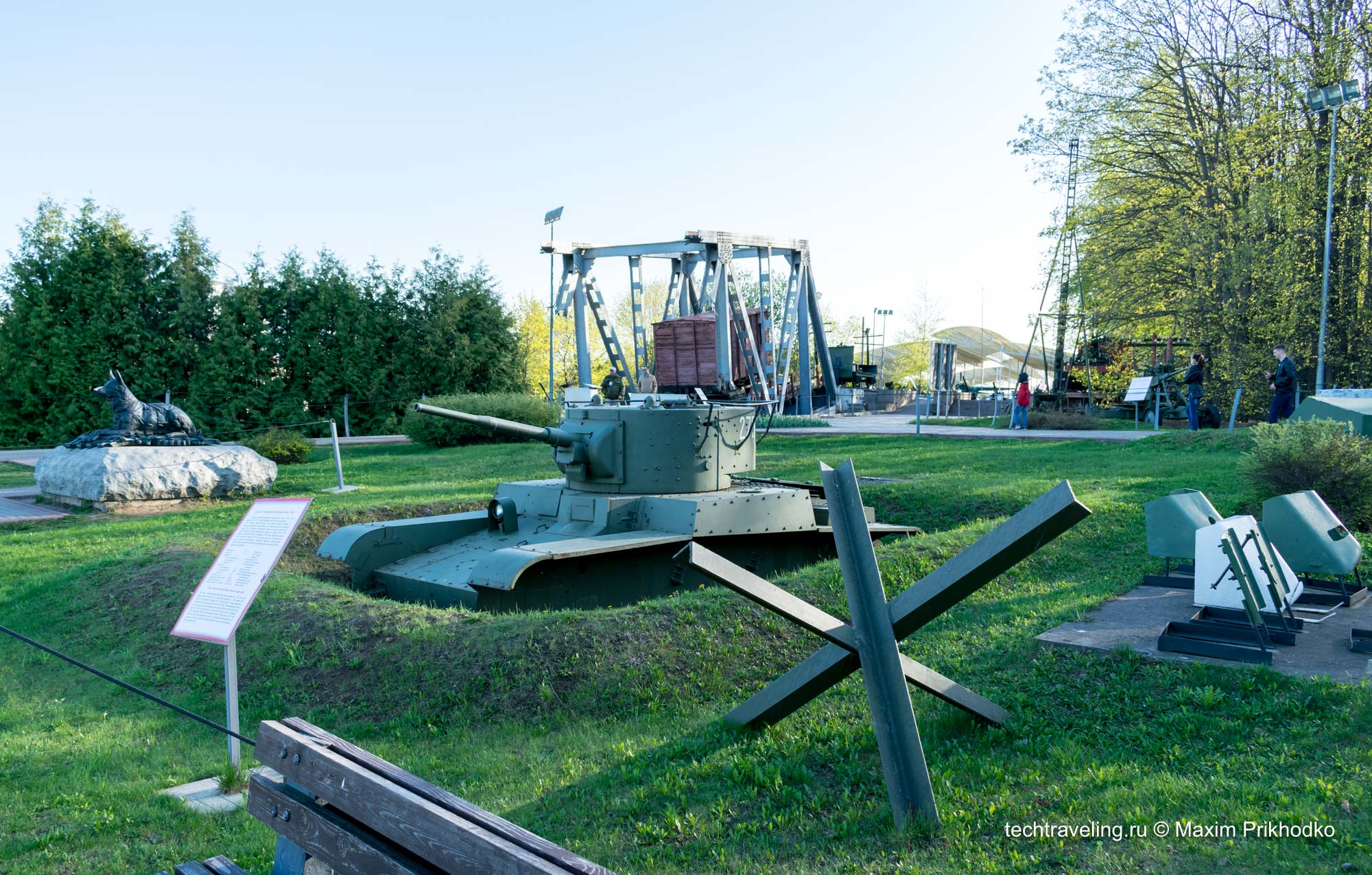 Парк Победы на Поклонной горе. Часть 3: Бронетехника и флот